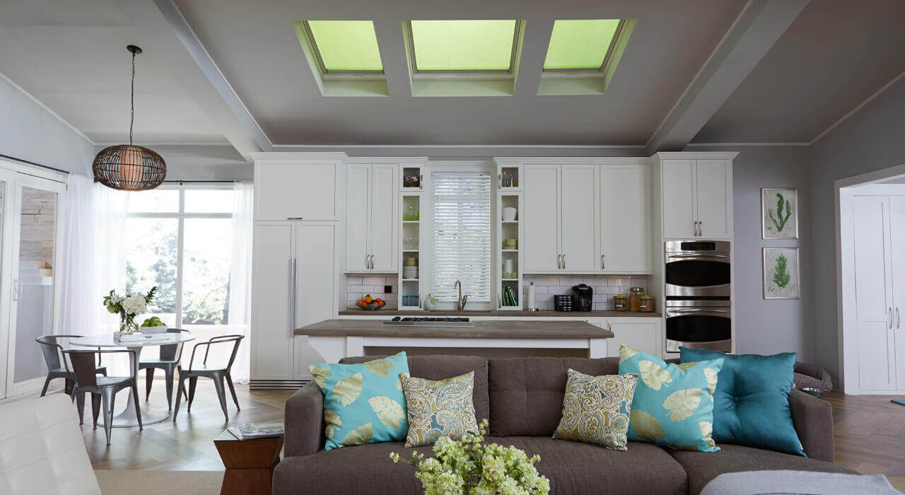 Skylights with Blinds