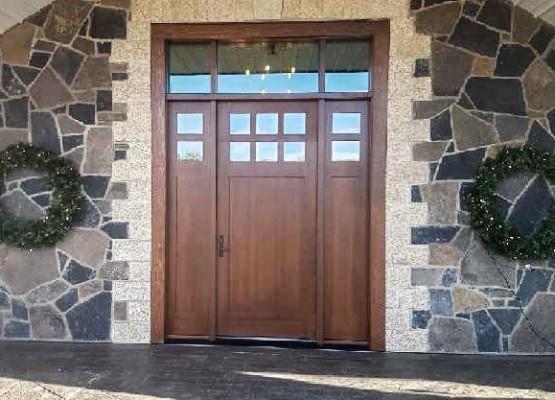 Wood doors calgary
